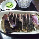 17845482 - 鰹タタキ定食