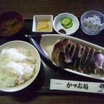 17845499 - 鰹タタキ定食