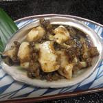 鮨 さるたひこ - 国産あわびバター焼