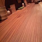 バオバブの木にバナナがなった - 一枚板テーブル@バオバブ