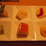びすとろアバロン - デザート6種