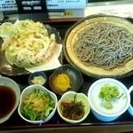 十割蕎麦 ゆずの木 - 田舎蕎麦の食べ放題☆1680円(2013/3)