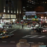 サンマルクカフェ - 2階から恵比寿駅方面を望む