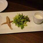 コモディーノ - ランチの前菜3種盛り