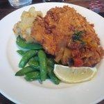 17850919 - 大山鶏胸肉のグリッシーニカツレツ