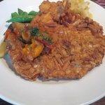 17850923 - 大山鶏胸肉のグリッシーニカツレツ