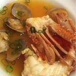 デュ ムーラン - オマール海老と渡り蟹のブイヤベース仕立て