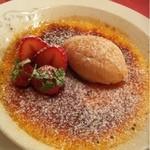 デュ ムーラン - クレームブリュレとキャラメルのアイスクリーム