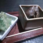 17851863 - つきだし この日は、筍とつぶ貝