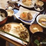 さんフィールド - ゆばの御膳 1600円 March 16 , 2013