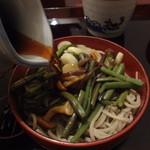 清川 そば店 - 三味そば