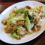 山幸 - 料理写真:豚肉とキャベツの味噌炒め