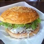 17852932 - 十勝チーズバーガー アメリカンサイズ