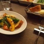 ラ カレッタ - 前菜盛り合わせ & 自家製フォカッチャ