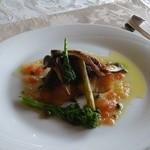 17854517 - 白身魚のポワレ