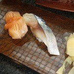 17856719 - 赤貝 〆鯖