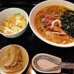 煌庵 - 煌庵・麺セット