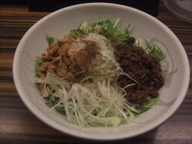 麺や 栄龍 - 汁なし担々麺(13-03)