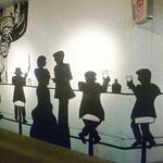BiSTRO BOULEAU BLANC - ◆壁画