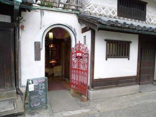 倉敷珈琲館 - こじんまりとした入口は隠れ家的な風情