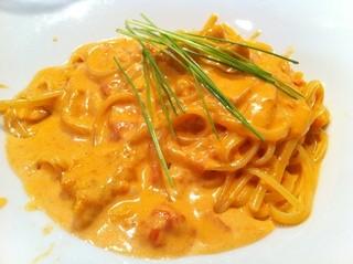 ristorante della collina - うにのクリームパスタ