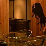 タパタパ - 入り口の牛が目印です!