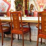 コーヒーの大学院 ルミエール・ド・パリ - オーキットルームの椅子