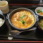 庄屋 - 料理写真:かつ鍋ランチ