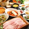 北千住 とんとん - 料理写真:生サムギョプサルコースセット