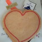 桃の木 - ハートのクッキー