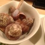 あおもり 湯島 - 八戸産磯つぶ貝の煮付け