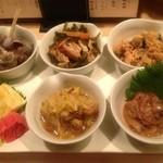あおもり 湯島 - おまかせ惣菜6点盛