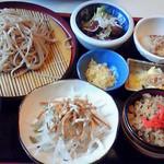 17877576 - 蕎麦定食(1180円)