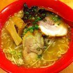 松任製麺 - 地鶏白湯ラーメン 680円
