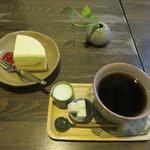 喫茶あと - ケーキと珈琲