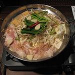 杏屋 - もつ鍋 味噌味
