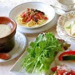 野花 - 料理写真:コースランチ