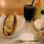 カフェ ド ルポ - チーズチリドックセット(夏限定)