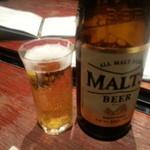 17881012 - 生のサーバー故障で瓶ビールスタート(^_^;)