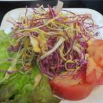 ハンバーグトレイン - グリーンサラダ