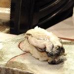 寿司処 しん - 2月の牡蠣がクリーミーすぎてとろけました!