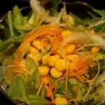 蘭亭 - 蘭亭定食 サラダ