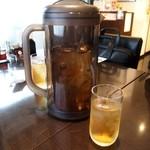 蘭亭 - お茶は冷たいジャスミン茶