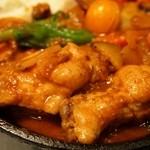 野菜を食べるカレーcamp - 完全食セット(鶏手羽煮込のせ)