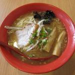 松任製麺 - 地鶏白湯らーめん(680円)