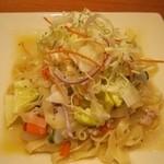 CAFE bon! - 2013.03 春野菜のぺペロンチーノ
