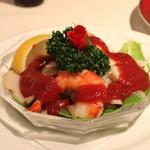 レストラン香味屋 - 海の幸のカクテル チリソース添え