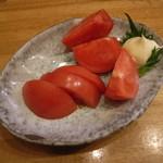 とり石 - 冷やしトマト