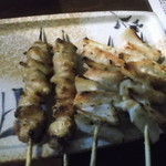 鳥千 - 料理写真:なんこつ、ぼんじり