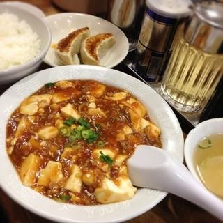 太楼 広尾店 - 麻婆豆腐セット 780円 サービス餃子